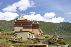 Tibetan kloster, Zhongdian, Yunnan, Kina Royaltyfri Foto