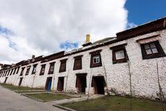 Tibetan konstruktion Arkivfoto