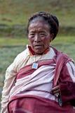 Tibetan kvinna Royaltyfri Bild