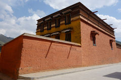 Tibetan labulengsi temple Royalty Free Stock Images