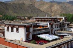 Tibetan labulengsi temple Royalty Free Stock Photos