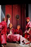 tibetan lama Royalty-vrije Stock Afbeelding