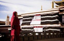 Tibetan lamas Royalty Free Stock Photography