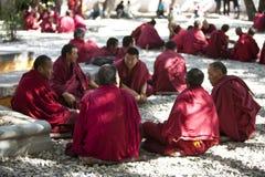 Tibetan lamas Stock Photos