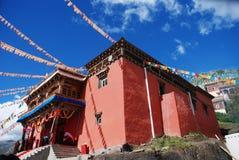 The Tibetan Lamasery Stock Photo