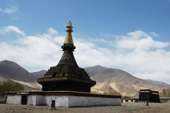 A Tibetan lamasery royalty free stock photography