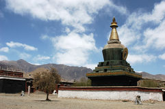 A Tibetan lamasery Royalty Free Stock Photo