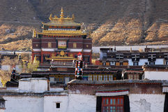 A Tibetan lamasery Royalty Free Stock Images
