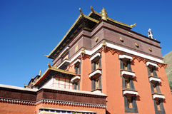 Tibetan lamasery Royalty Free Stock Photography