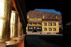 Tibetan lamasery Stock Photography