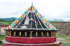 Tibetan lamasery royalty free stock image