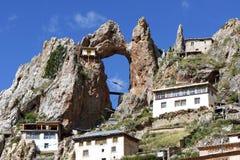 Tibetan lamasery Zishusi Stock Images