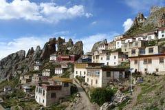 Tibetan lamasery Zizhusi Stock Photos