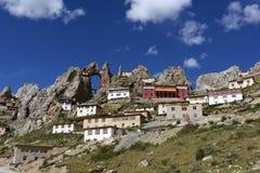 Tibetan lamasery Zizhusi Stock Photography