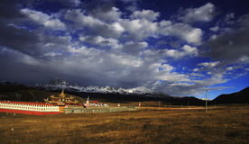 Tibetan landscape Royalty Free Stock Photography