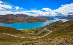 Tibetan landscape Stock Photography