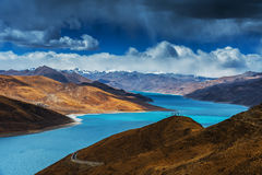 The Tibetan landscape Royalty Free Stock Photos