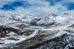 The Tibetan landscape Royalty Free Stock Photography