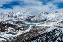 The Tibetan landscape Royalty Free Stock Photography