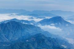 The Tibetan landscape Royalty Free Stock Photo