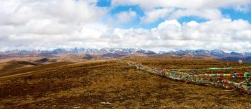 Tibetan Landscape Stock Photos