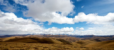 Tibetan Landscape Royalty Free Stock Images