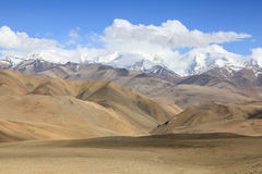 Tibetan landscape. View on Tibetan part of Himalayas Stock Photography