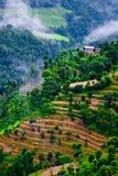 Tibetan landschap royalty-vrije stock afbeeldingen