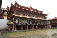 Tibetan Langmu Temple of China Stock Image