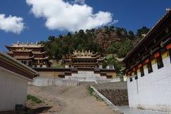 Tibetan Langmusi temple Stock Photos