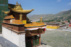 Tibetan Langmusi temple Royalty Free Stock Photography