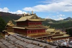 Tibetan Langmusi temple Royalty Free Stock Photo