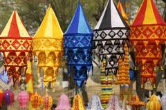 Tibetan Lantaarns Royalty-vrije Stock Fotografie