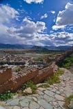 tibetan liggande royaltyfri foto