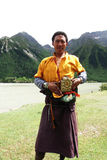 Tibetan man Royalty Free Stock Image
