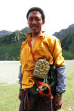 Tibetan man Stock Photography