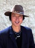 tibetan man Fotografering för Bildbyråer