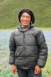 tibetan man Royaltyfria Bilder