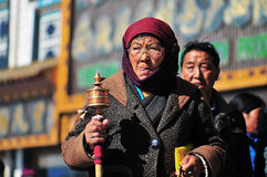 Tibetan man Stock Photos