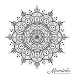Tibetan mandala decorative ornament design Stock Image