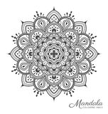 Tibetan mandala decorative ornament design Stock Photo