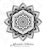 Tibetan mandala decorative ornament design Royalty Free Stock Images