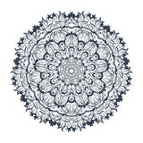 Tibetan mandala on seamless background. Mandala. Tibetan mandala on seamless background. Vintage decorative elements. Hand drawn seamless pattern. Islam, Arabic vector illustration