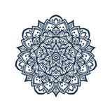 Tibetan mandala. Mandala. Tibetan mandala  on seamless background. Vintage decorative elements. Hand drawn seamless pattern. Islam, Arabic, Indian, ottoman Stock Images