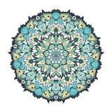 Tibetan mandala. Mandala. Tibetan mandala . Vintage decorative elements. Islam, Arabic, Indian, ottoman motifs. Decorative round ornament. Yoga logo, background royalty free illustration