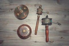 Tibetan mani wheel Royalty Free Stock Image