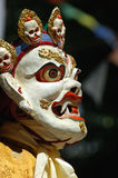 Tibetan mask. Tibetan ritual dance mask, Ladakh Festival, Leh, Ladakh, India Royalty Free Stock Photography