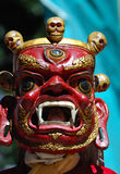 Tibetan mask stock photo