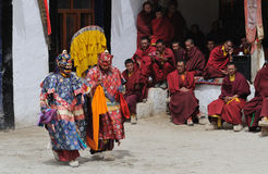 Tibetan Mask Dance 1 Royalty Free Stock Image