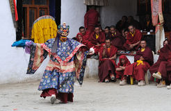 Tibetan Mask Dance 2 Stock Images